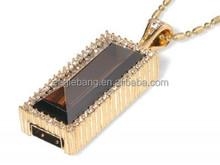 256tb jewelry usb flash drive/lock shape/diamond/necklace