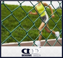 Alibaba China Soccer/Garden Dog Cheap Chain Link Fence for sale