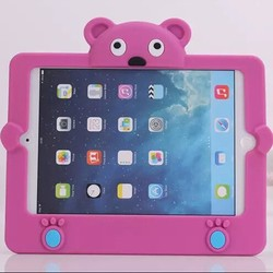 3D cute bear design full body protective EVA case for iPad mini 3/2/1 generation
