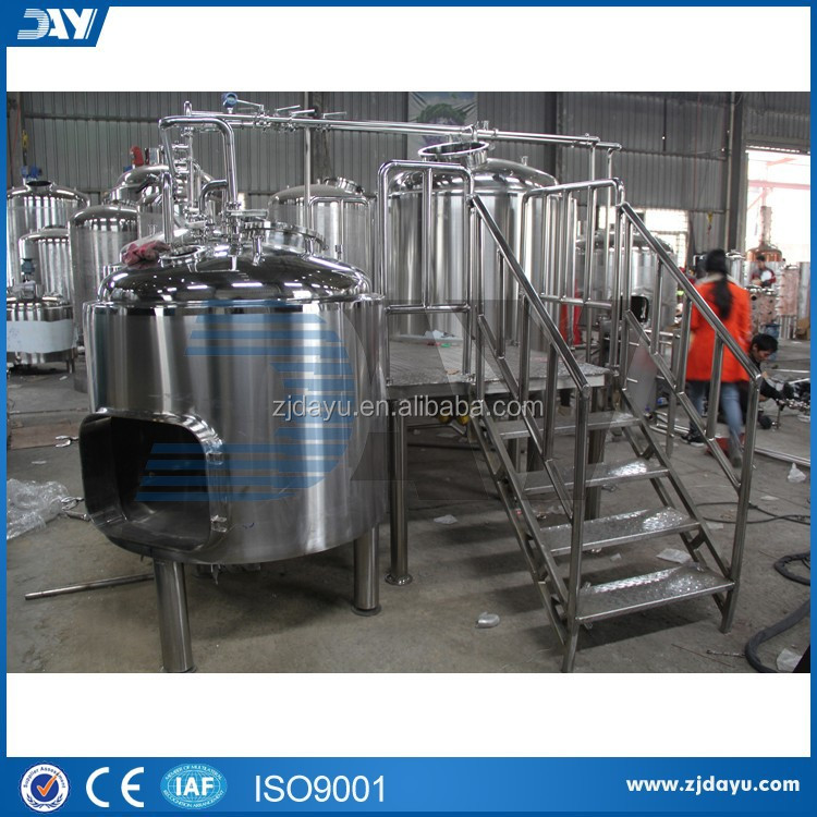 Electric heating brewing system brewhouse for beer 5bbl for Electric heating system for house