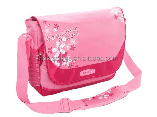 Nouveau Design de mode Polyester épaule sangle de sac d'école, Bandoulière sac de messager
