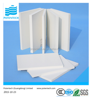 8mm two sides extruded plastic PVC foam sheet for furniture
