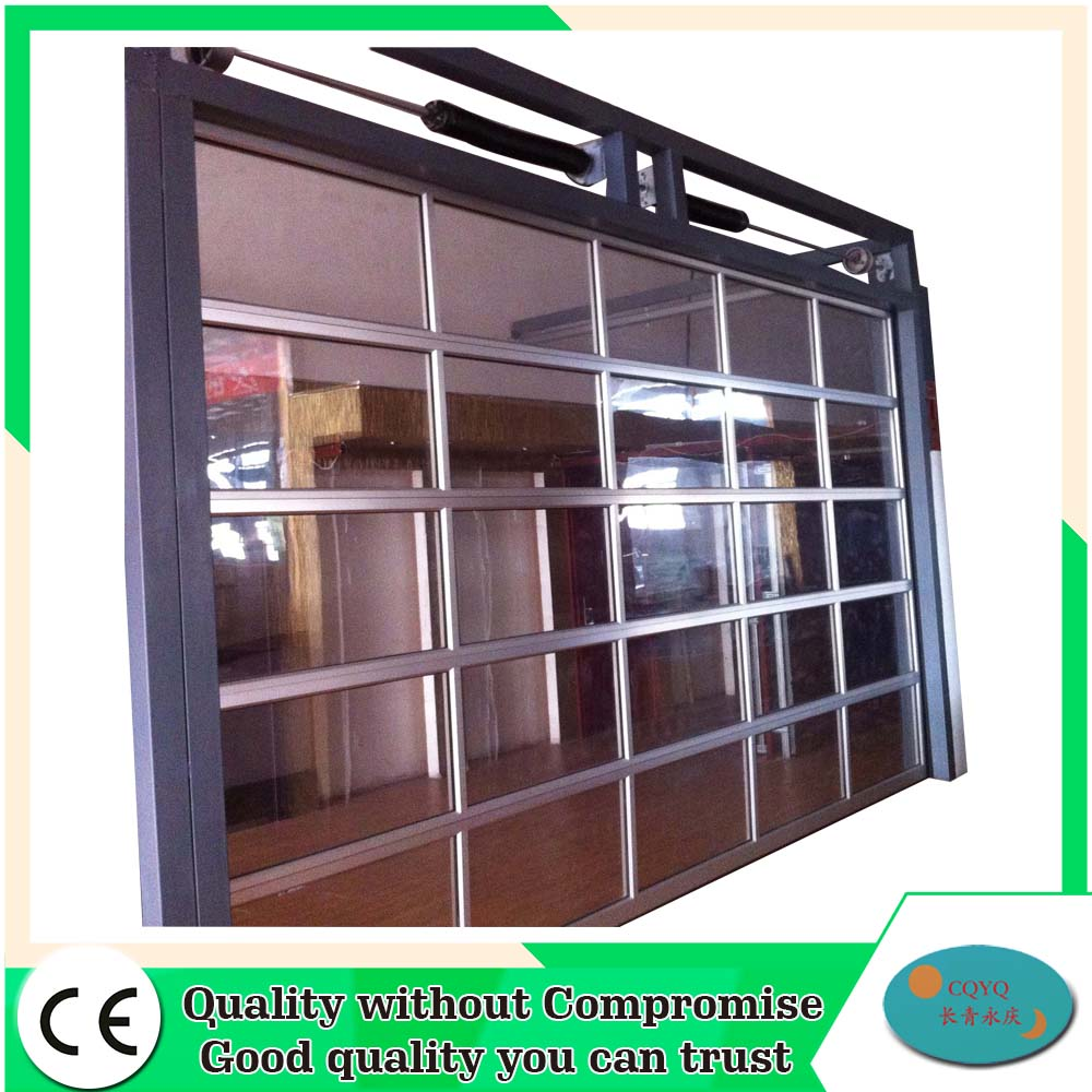 aluminum full view glass garage doors prices buy