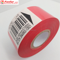 30mm * 100m Red Expiry Date Printing Foil from Manufacturer in China