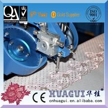 Huagui usado máquina de coser industrial máquina de hotfix rhinestone