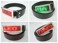 2015 LED Scrolling led Belt Buckle with high quality Fashionable Christmas Gift in guangzhou