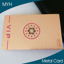 Metal Material and Club, visiting, promotion, advertising, enterprises, bank, traffic, in Use metal business card