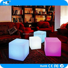 flash led cube chair.Waterproof ip 65 outdoor light.Energy led bar cube stool shopping rate from china to USA