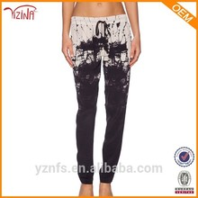 Moldeadores calientes pantalones sueltos de algodón para mujeres / moda para mujer blusa pantalones