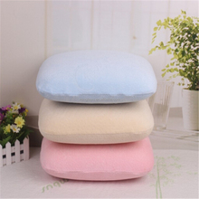Nap pillow, break pillow, small pillow with colorful pillowcase bamboo memory foam for noon rest