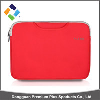 Fashionable design promotional price neoprene red laptop bag