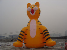 advertisement product inflatable tiger animal model for decoration