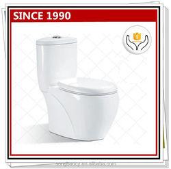 8048 Elegant modern design ceramic one piece toilet