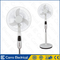 Double use 12volt 16inch dc motor solar powered stand air cooler electric fan universal electric fan motor