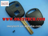 Okeytech Toyota 2 buttons key shell TOY48 blade for toyota corolla smart key for toyota corolla key