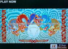5 Dragon Aristocrat casino juego de tragamonedas PCB