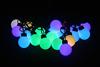 40mm Big Ball String Light Led Festoon Light String Outdoor Usage