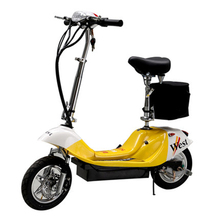New design with sgs test report 2015 new fashion 350w patent folding electric scooter