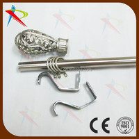 Guangzhou rod Trade Assaurance Middle East Fixed curtain tube for window