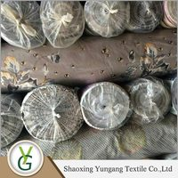 Best selling Small quantity order jacquard sofa stock fabric with flocking