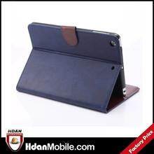New product for ipad mini 3,folio crazy horse case for ipad mini 3,for apple ipad mini 3 case