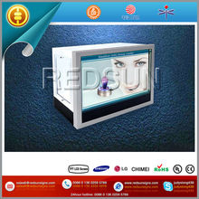 Fair Display Standalone LCD Signage with Rotate Platform Inside