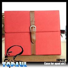 Alibaba China Luxury Leather belt clip case for ipad mini