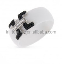 OCMRL7083-J1 Hot New Products Silver Jewellery Rings ceramic jewelry