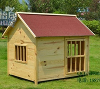 CE Certified Wate Pet Products Cages Carriers > Wooden Outdoor Pine Fir Eco-Friendly pet dog cat houses home building room #CH09