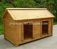Large Wooden Dog Kennels for Two / Wood Dog House / Pet House