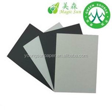 1mm to 3mm grey carton board/recyceld paperboard/factory paper