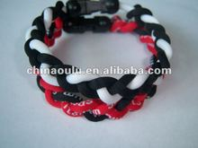 wholesale purple rope bracelets bangles sport balance 2012