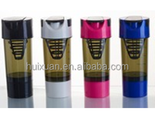Optional color 600ml splendid pc sport bottle with pc material