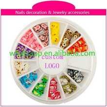 Fashion Crystal 3D Nail Art nail art brush names