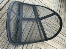 Black back support mesh for car, office, home