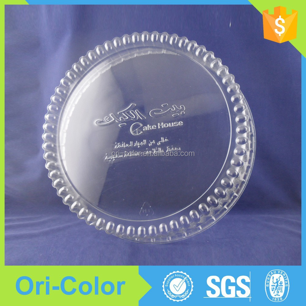 Disposable Plastic Cake Packaging Box