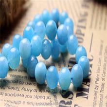Sky Blue Crystal Beads Jewelry Set