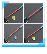 China suppiler red wire auto mini fuse holder