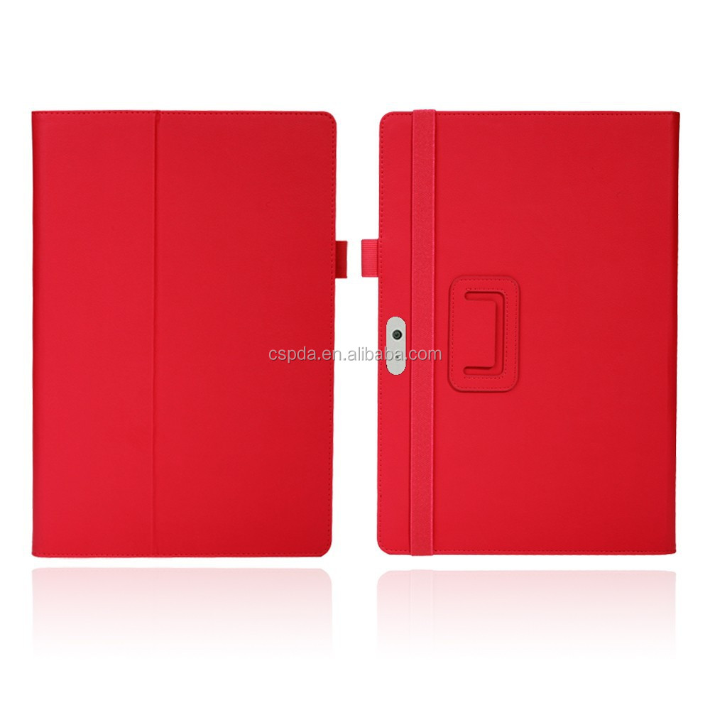PU leather stand case for 2015 new Microsoft Surface 3 10.8 inch , flip cover for surface 3 10.8 inch