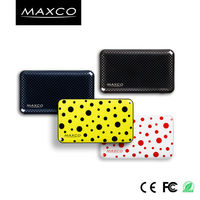 MAXCO 6000mah ce rohs fcc certificated universal power bank charger with IML techonology