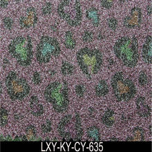 Shoes, Bags, Wallpaper Use PU Glitter Leather Fabric