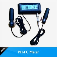 swimming pool continuous meters ph and ec