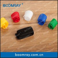 factory direct sales high quanlity colorful magic nylon soft cable strap coat and tie for men