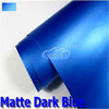 Wholesale Matte dark blue car wrap film, waterproof vehicle PVC matte vinyl sticker with bubble free in 1.52x30m