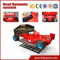 China Factory Direct Sale 4d 5d driving car driving simulator human gyroscope amusement rides car racing electronic game