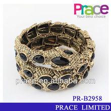hot sale old fashion wholesale snake bracelet for women