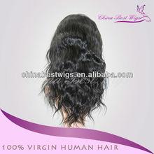 natural straight full lace wig 100% human hair