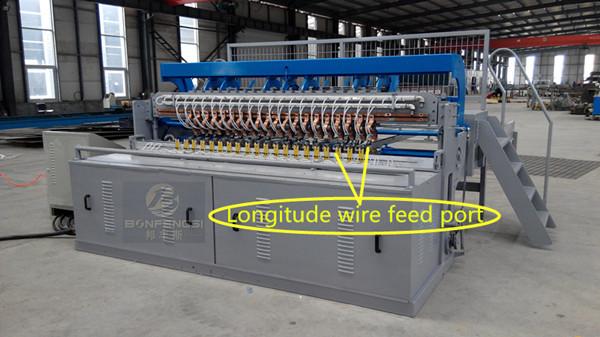 Longitude wire feed port of welding machine.jpg