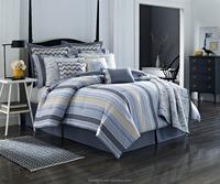 comforter coverlet 12 pcs set, peach skin quality, heat transfer printed