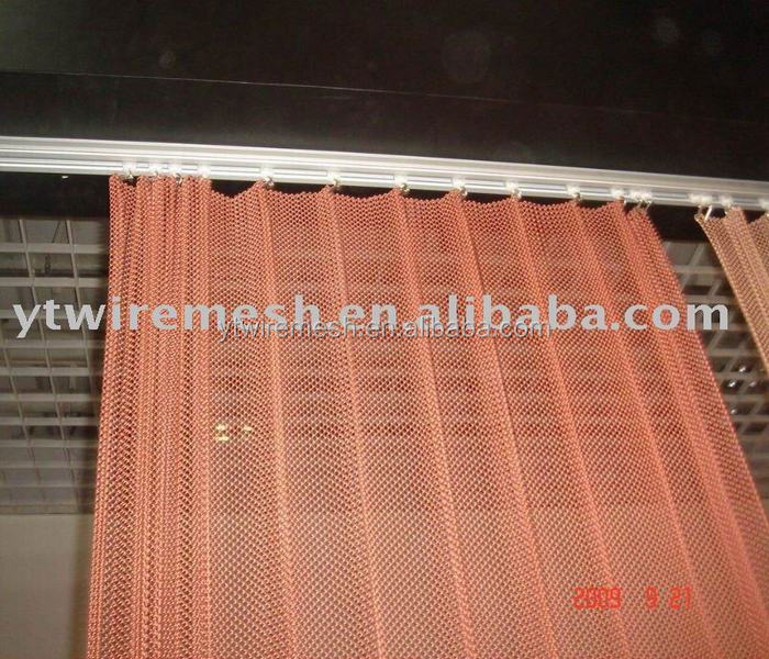 Metal Decoration Fabric Drapery